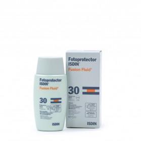 Fotoprotección isdin SPF 30 fusion fluid 50 ml