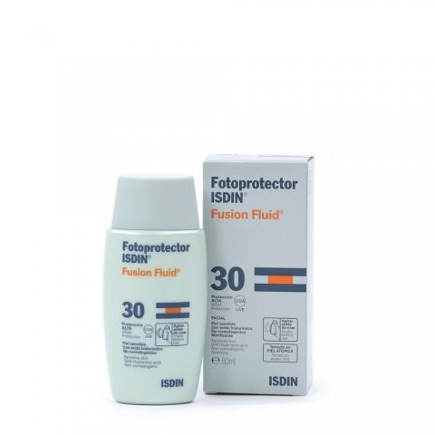 Fotoprotector isdin SPF 30 fusion fluid 50 ml