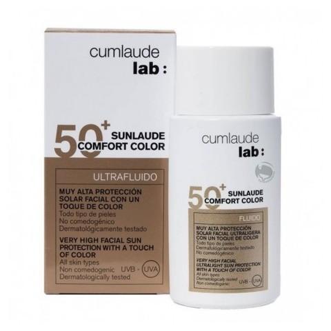 Cumlaude lab: sunlaude SPF 50+ comfort color 50 ml
