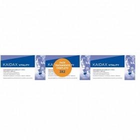 Pack kaidax vitality 36 unidades tratamiento completo 3x2