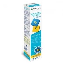 Arkovital magnesio y potasio 18 comprimidos efervescentes