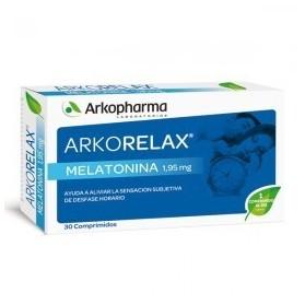 Arkorelax melatonina 30 cápsulas.