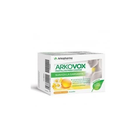 Arkovox própolis + vitamina C 20 comprimidos de miel y limón