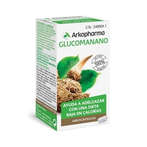 Arkopharma glucomanano 80 cápsulas