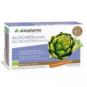 Arkofluido alcachofa e hinojo 10 ampollas