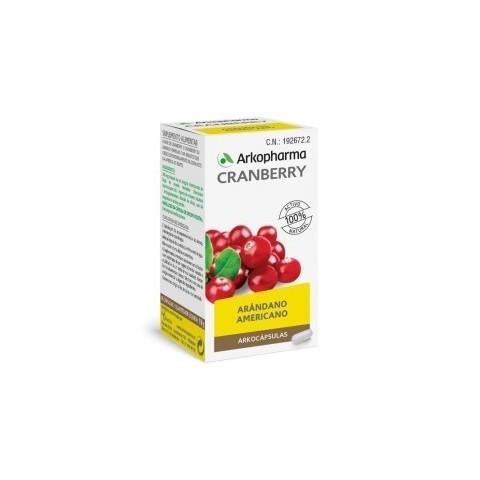 Arkopharma cranberry 50 cápsulas