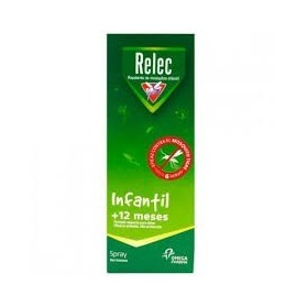 Relec infantil + 12 meses spray repelente mosquitos 100 ml