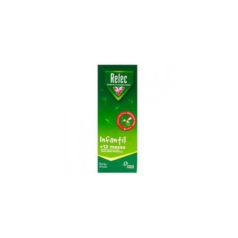 Relec infantil + 12 meses spray repelente mosquitos 100 ml