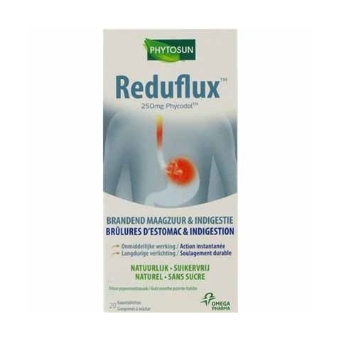 Reduflux comprimidos 20 comprimidos