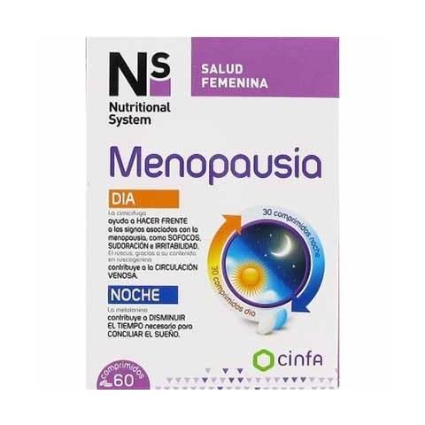 NS menopausia día y noche 60 comprimidos