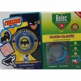Relec pulsera antimosquitos batman