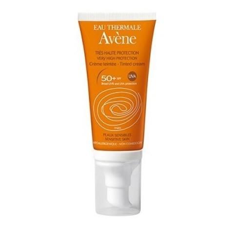 Avene SPF 50+ crema muy alta protección color 50 ml