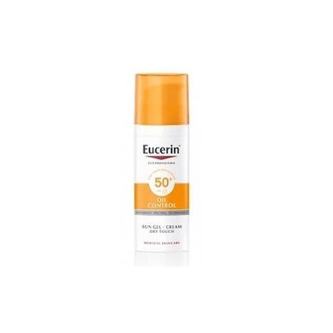 gel crema eucerin sun protection SPF 50+ oil control 50 ml