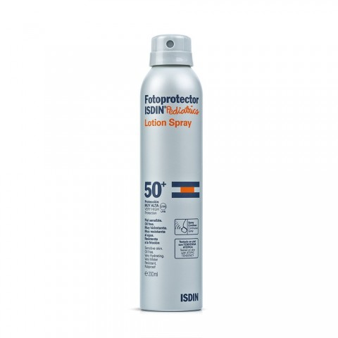 fotoprotector isdin spf 50 pediatrico spray continuo 200 ml