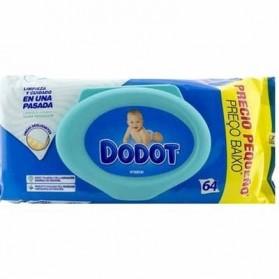 Dodot azul toallitas húmedas para bebés 72 unidades