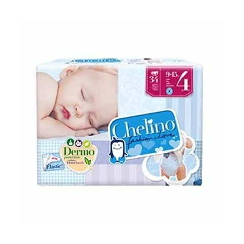 Chelino pañal infantil talla 4 (9-15 kg) 36 unidades