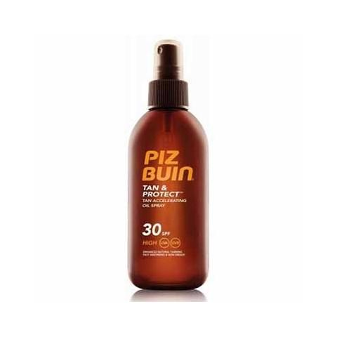 Piz Buin tan & protect aceite en spray SPF 30 150 ml