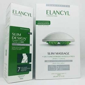 Pack elancyl slim massage + slim desing noche 200 ml