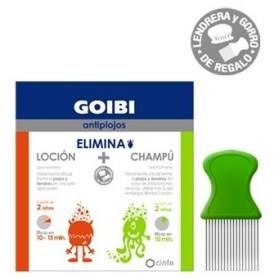 Pack goibi antipiojos elimina champú + loción