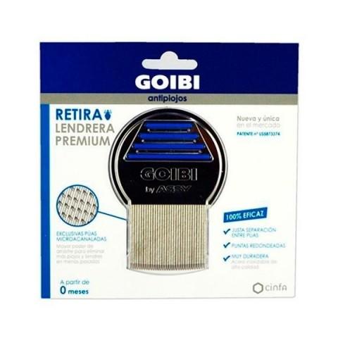Lendrera premium goibi-retira anti piojos 1 unidad