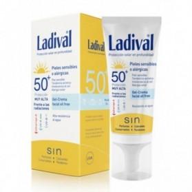 Ladival piel sensible o alergia SPF 50+ fotoprotectora facial