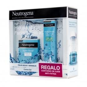 pack neutrogena hydro boost crema gel piel seca contorno de ojos