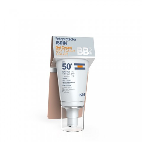 Fotoprotector isdin spf 50 dry touch color 50 ml