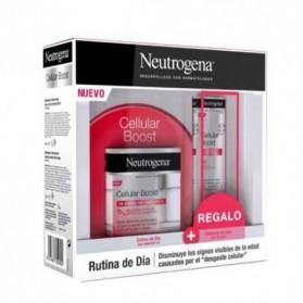 Pack neutrogena cellular boost crema de día SPF 20 + contorno de ojos