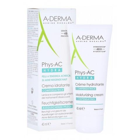a-derma phys ac hydra crema hidratante matificante 40 ml