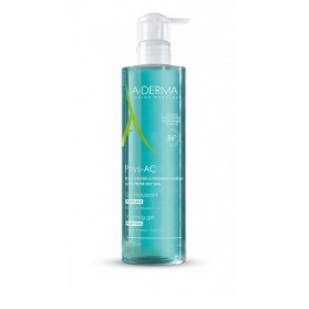 A-derma phys AC gel limpiador purificante 400 ml