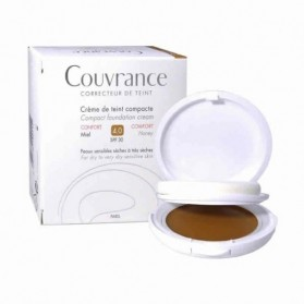 avene couvrance compacta spf 30 confort 4 miel 10 gramos