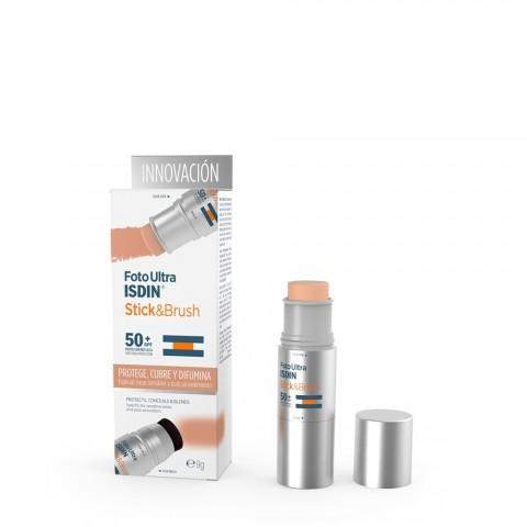 fotoproteccion fotoultra isdin stick and brush spf 50 7 gramos