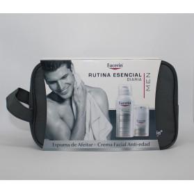 eucerin pack espuma de afeitar facial anti edad 50 neceser