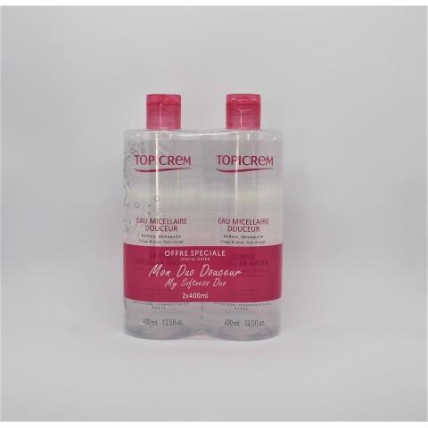 pack topicrem duo agua micelar 400 ml