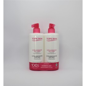 pack topicrem duo uh leche corporal 500 ml