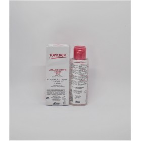pack topicrem uh crema rica 40 ml agua micelar 100 ml