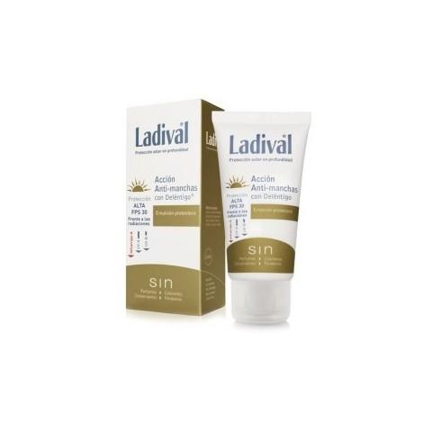 ladival anti manchas spf 50 fluido toque seco 50 ml
