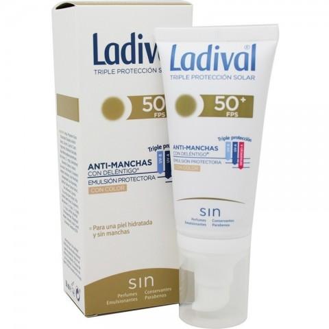 ladival anti manchas spf 50 emulsion con color 50 ml