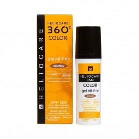 pack heliocare 360 spf 50 color bronze gel oil free