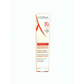 A-derma protect fluido invisible SPF 50+ 40 ml