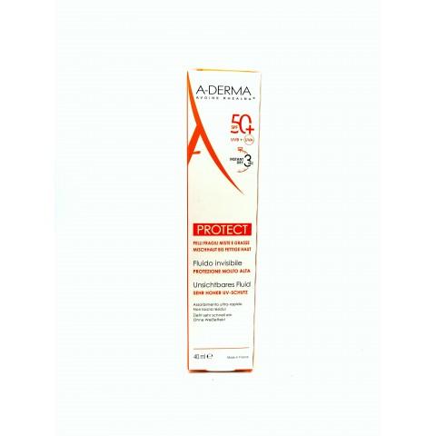 A-derma protect fluido invisible SPF 50+ 40 ml