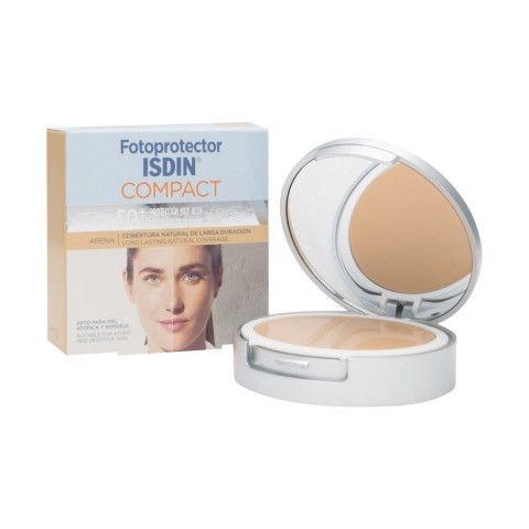 Fotoprotector isdin compact SPF 50 oil free color arena