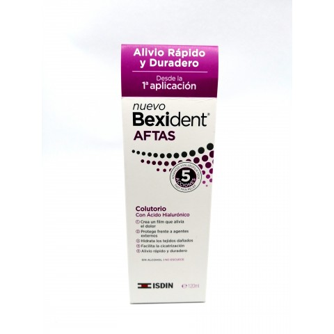 colutorio bexident aftas bucal protector 120 ml
