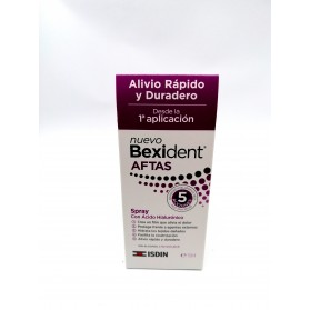 spray bucal bexident aftas protector 15 ml