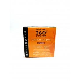 heliocare 360º compacto spf 50 color bronze