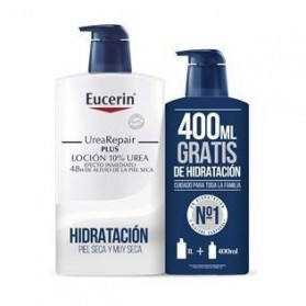 eucerin pack urearepair plus locion 1l 400 ml