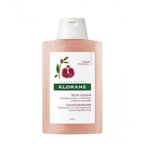 Klorane champú al extracto de granada sin sulfatos 200 ml