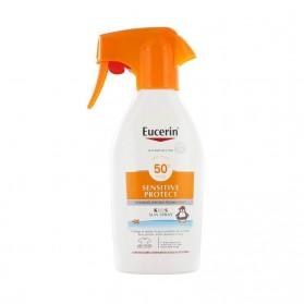 Eucerin sun protection spray infantil SPF 50+ pistola 300 ml