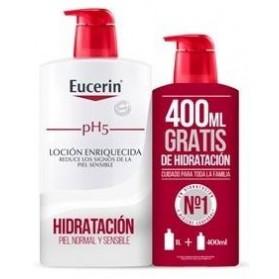 eucerin piel sensible ph 5 locion enriquecida 400 ml
