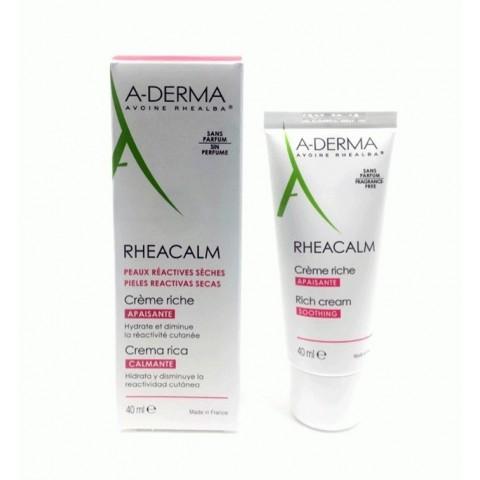A Derma Rheacalm Crema Calmante Enriquecida 40ml